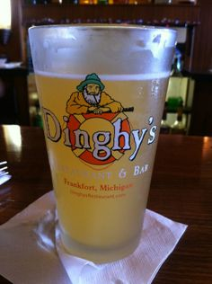 Dinghy's. Lunch. Dinner. Beer on tap.