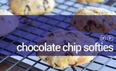 CHOCOLATE CHIP SOFTIES #paleo #chocolate #cookies #glutenfree