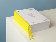 Au loin, une île ! by Present Perfect #print #yellow #catalogue