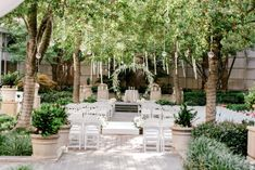 Whimsical Garden Wedding at the Crescent Court Hotel Wedding Ceremony Backdrop, Chapel Wedding, Decor Wedding, Gift Wedding, Wedding Reception, Wedding Ideas, Outdoor Wedding Inspiration, Wedding Photography Inspiration, Courtyard Wedding