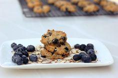 blueberry almond breakfast cookies