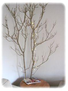 Brilleting: Et træ i stuen & lidt Halloween-hygge! Syren-grene