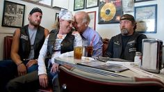 Vice President Joe Biden cozied up with a female biker during a stop today at Cruisers Diner... http://abcnews.go.com/blogs/politics/2012/09/joe-biden-cozies-up-with-female-biker/#