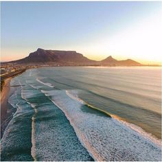 travel africa Safari Products is part of Safari Products The Africa Adventure Company - Endless surf in Cape Town, South Africa South Africa Beach, South Africa Safari, Cape Town South Africa, Surfing Destinations, Africa Destinations, Winter Destinations, Table Mountain, Mountain View, Surf Trip