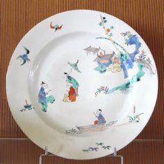 Chantilly porcelain plate Kakiemon style 1725 1751