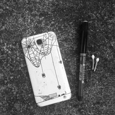 Mobile phone case Penart   #mobilephoneart #phonecaseart #caseart #penart #doodle