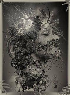 "Saatchi Art Artist Bojan Jevtić; Photography, ""In The Mirror"" #art"