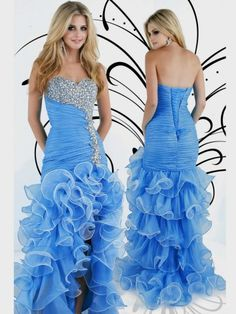 My dress and I am praying to change the bottom like the purple dress because the ruffles do not flatter me!