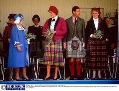 September 6 1986 Braemar Games in Scotland