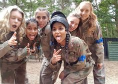 Slaying on and off the field! - Real Time - Diet, Exercise, Fitness, Finance You for Healthy articles ideas Paintball Girl, Israeli Girls, Delta Force, Powerpuff Girls, Girls Night Out, Fields, Military Jacket, Hot Girls, Dads