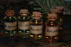 Magic potions from essential oils