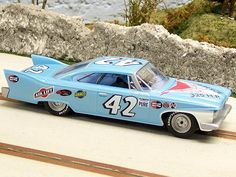 '60 Plymouth Petty slot car