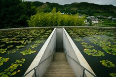 Tadao Ando - Water Temple - Combination of Architecture and Nature Stairs Architecture, Amazing Architecture, Architecture Details, Landscape Architecture, Interior Architecture, Ancient Architecture, Sustainable Architecture, Tadao Ando, Urban Landscape