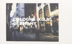Cologne is a City and also a song by Ben Folds about his moping about in a hotel after separating from a lover at the western city's train station. Here in Cologne I know I said it wrong I wa… Ben Folds, Cities In Germany, I Said, Train Station, Cologne, I Know, Songs, City, Travel