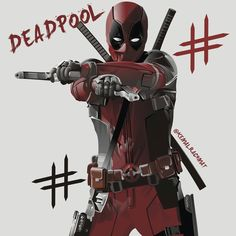 #Deadpool #Fan #Art. (Deadpool) By: Kemalrachmat. (THE * 5 * STÅR * ÅWARD * OF: * AW YEAH, IT'S MAJOR ÅWESOMENESS!!!™)<©>