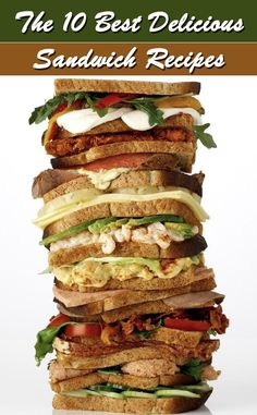 Turn to these fresh and tasty sandwich ideas for a handheld meal that won't leave you bored.
