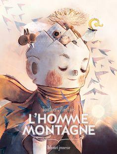 French artist Amélie Fléchais' L'Homme Montagne on Behance