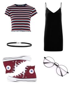 """""""Untitled #29"""" by antisocialsarah ❤ liked on Polyvore featuring rag & bone/JEAN, Topshop, Converse and BillyTheTree"""