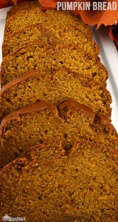 I know you know someone who would love a piece of this Homemade Pumpkin Bread. It truly is the best pumpkin quick bread that I've ever tasted. Moist, delicious and chock full of pumpkin and spices. Best Pumpkin, Canned Pumpkin, Pumpkin Bread, Pumpkin Spice, Pumpkin Recipes, Fall Recipes, Holiday Recipes, Quick Bread Recipes, Baking Recipes