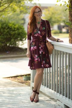 3ae7f24341 Turning Heads Linkup- Fall Collection Karina Dress-The Ruby
