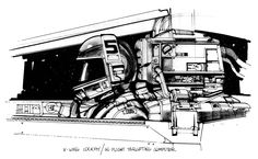 concept art Joe Johnston - Google Search