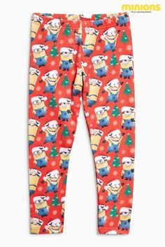 f7bcf1d7a7 Buy Red Minions Christmas Leggings (3-16yrs) from the Next UK online shop