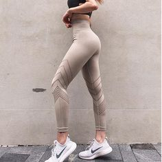 a62644e7a81c4 Women's Yoga Pants High Waist Fitness Gym Pants Seamless Leggings Sports  Running Tights