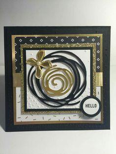 Swirly Hello