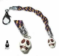Skull Fob by shipsmanor on Etsy