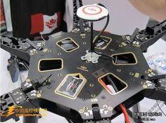 DJI S800 Spreading Wings