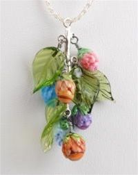 MORE USES FOR PEACH LEAVES ETC. ...................................Sonoran Beads   Free jewelry project