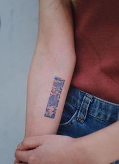 Claude Monet's Painting Tattoo