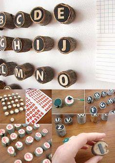 tutorial wood magnets