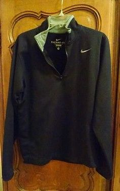 Nike-Therma-Fit-Mens-Active-Sweat-Shirt-Jacket-Pullover-sz-M  SOLD