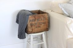wood crate primitive