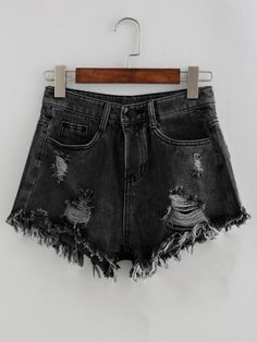 f07183460 43 Best distressed denim shorts images in 2018 | Fashion outfits ...