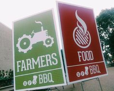 At tonight's #F2S_BBQ we are pairing farmers and chefs. One grows the food, the other prepares it. You get to eat it.