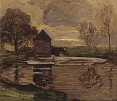 Piet Mondrian (1872–1944) - 1907/08:The Old Mill at Oele