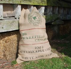 Coffee Bean Sacks | Old, Recycled, Used | Next Day Delivery
