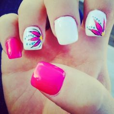 Summer Gel Nails!:)