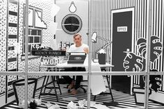 1   Wieden + Kennedy Displays Workers In A Pop Art Cage   Co.Design: business + innovation + design