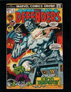 THE DEFENDERS #5 HULK, DOCTOR STRANGE, SUB-MARINER, MARVEL COMICS
