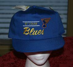 a63bcd70d New Vintage St. Louis Blues NHL Snapback Cap Hockey Hat-sewn retro