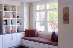 63 Incredibly cozy and inspiring window seat ideas....totally having a window seat in my future house!
