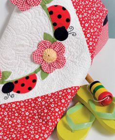 Ladybug Landing quilt