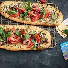 Manakish Flat Bread With Za'Atar