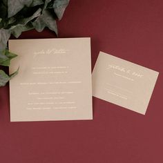 You deserve the royal treatment and this golden invitation is just the beginning. Your guests will be dazzled by the gold shimmer stock imprinted with your wedding information in ecru foil. This invitation ensemble features all enclosures as cards. Layout only available as shown.
