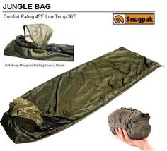 Summer Sleeping Bag - Pin it :-) Follow us :-))  zCamping.com is your Camping Product Gallery ;) CLICK IMAGE TWICE for Pricing and Info :) SEE A LARGER SELECTION of summer sleeping bag at http://zcamping.com/category/camping-categories/camping-sleeping-bags/summer-sleeping-bags/ - camping gear, hunting, camping essentials, camping, sleeping bag  - SnugPak Jungle Bag (Black) (Olive) « zCamping.com