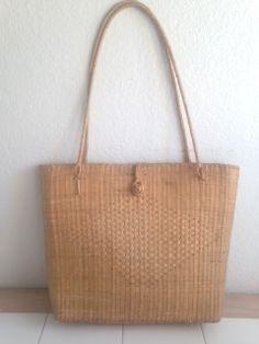 little rattan bag