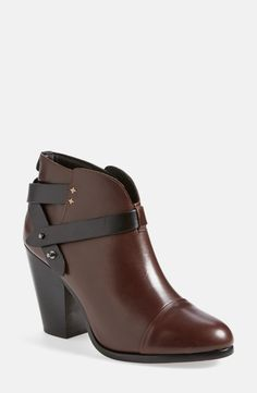 Rag & Bone booties in the oxblood color!